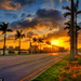West-Palm-Beach-Sunrise-from-Okeechobee-Road by Captain Kimo