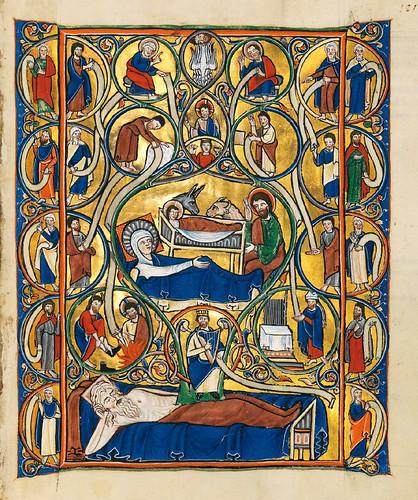 016-Salterio dorado de Múnich-1200-1225 d.C- Biblioteca Estatal de Baviera (BSB)