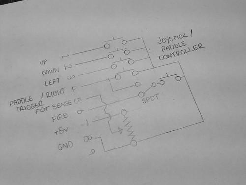 Joystick / Paddle Schematic