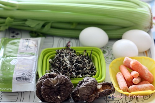 涼拌芹菜干絲 Celery with bean curd 6