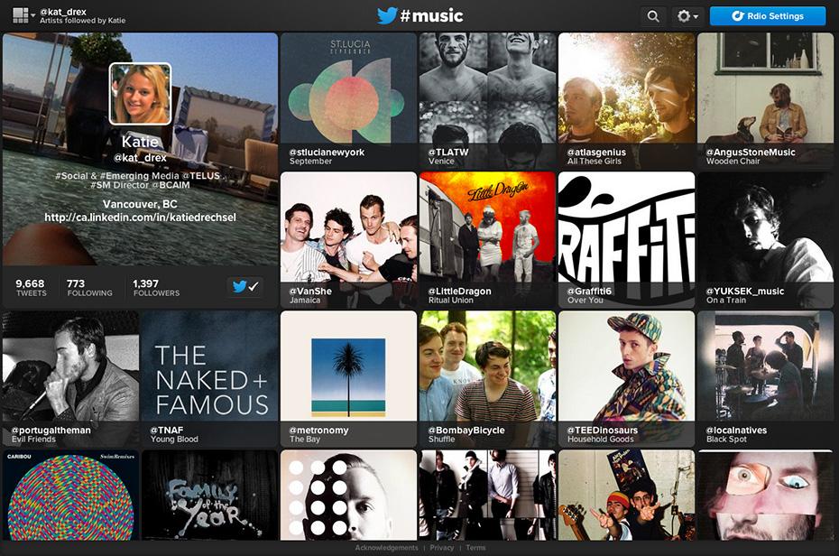Twitter #music - @kat_drex's 'Me' chart