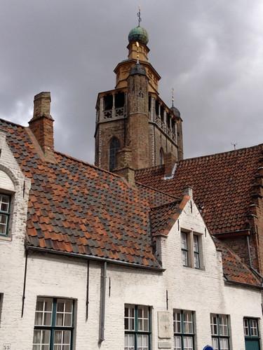 Bruges - Jeruzalemkerk tower