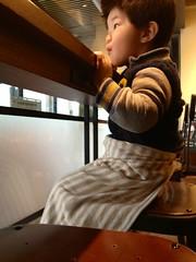 スタバで朝御飯 2013/4/21