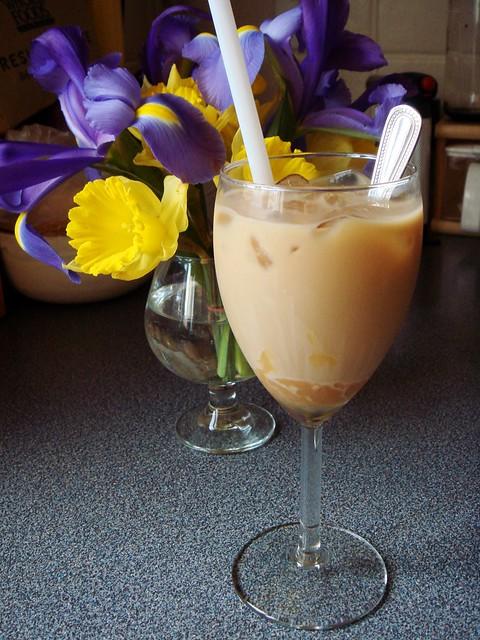 Iced Coffee with Cajeta
