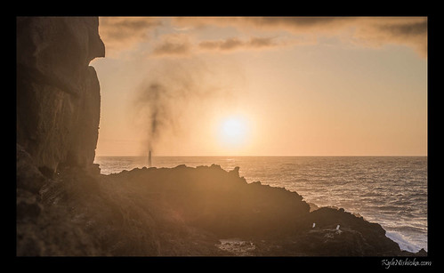 Blowhole Sunrise