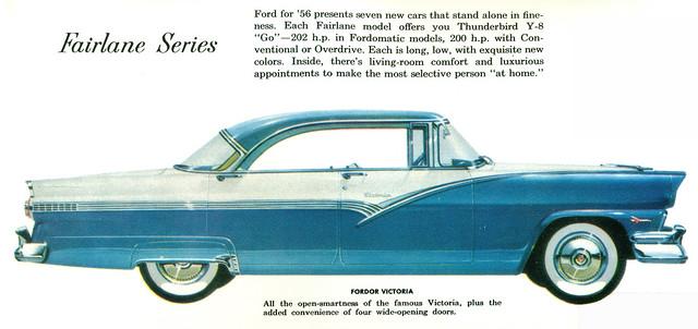 1956 ford fairlane victoria 4 door hardtop flickr for 1956 ford fairlane 4 door