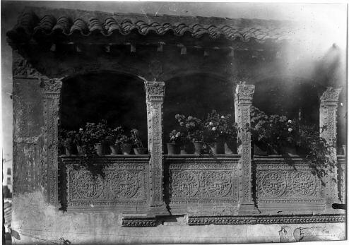 Casa de la familia Arcos en la Calle San Lorenzo © Fondo Rodríguez. Archivo Histórico Provincial. JCCM. Signatura Album4-1494