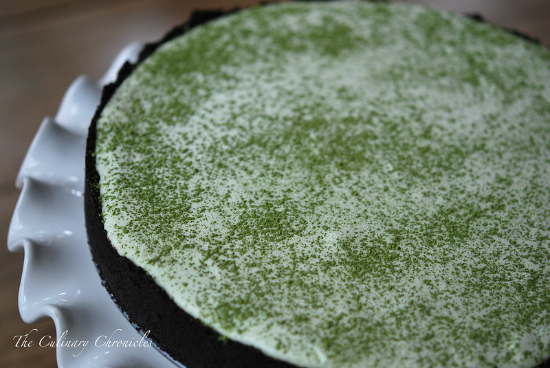 "Green Tea ""Icebox"" Cheesecake"