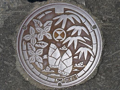 Miyazaki village Fukui pref, manhole cover (福井県宮崎村のマンホール)