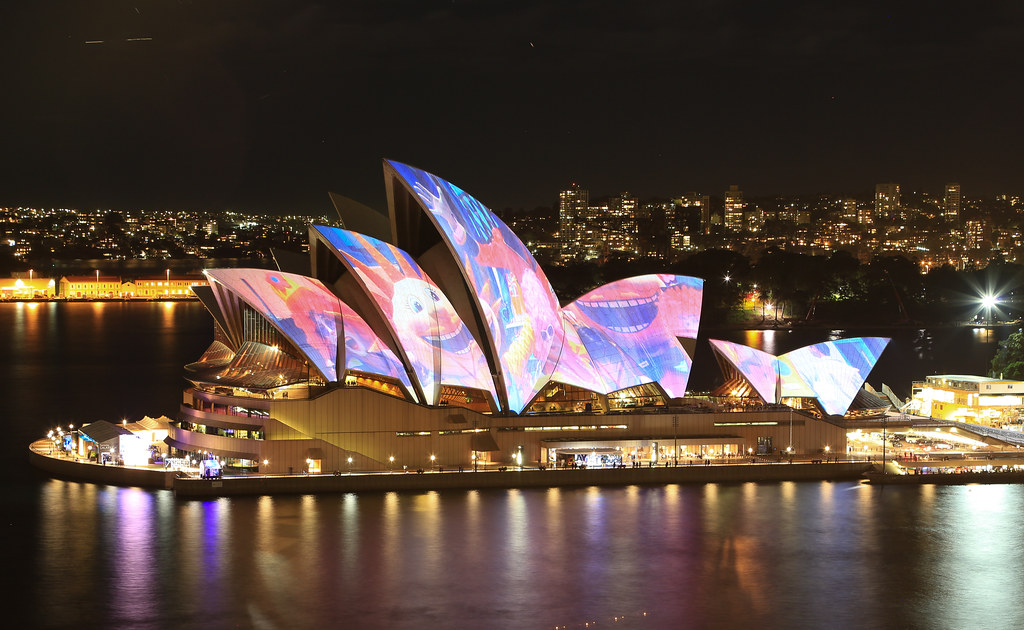 Opera House in Night