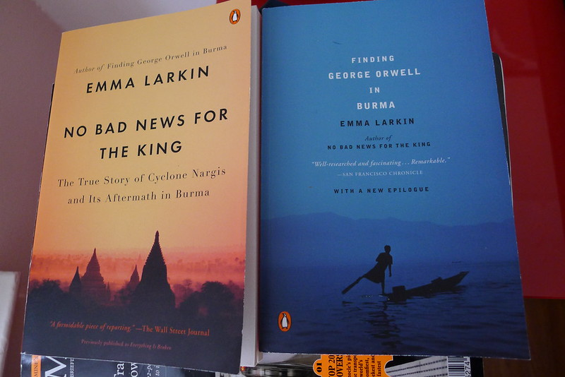 Upcoming Burma reads