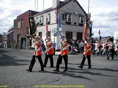 UVF 100th Anniversary Parade 2013 in Belfast. Pic 76