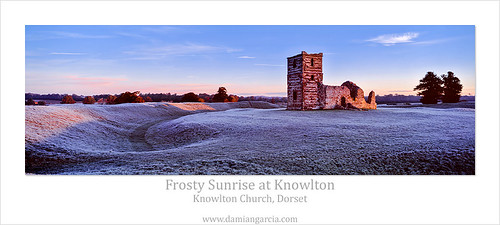 light england cold church century sunrise europe frost britain earth united great ruin first kingdom frosty dorset chase works 14th monuments knowlton henge cranbourne englishheritage cranborne