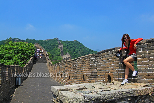 Great wall of china Beijing nicole tan