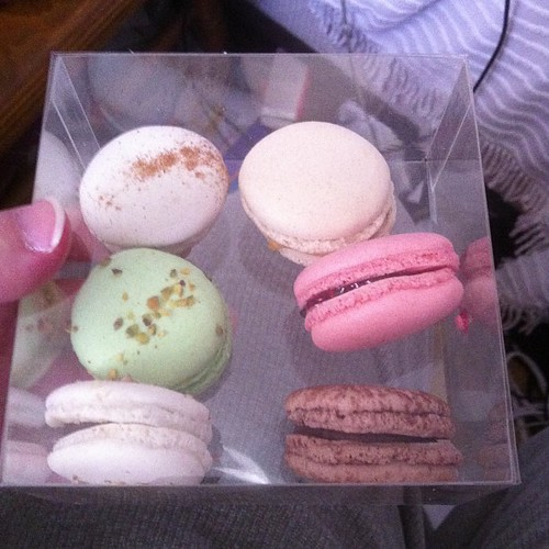Macaroons from Bon Ton. #yegfood by raise my voice