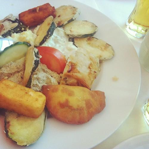 platter of appetizers @orpheusvienna