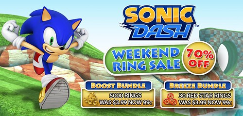 Sonic Dash WeekendRingSale