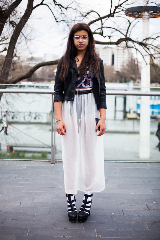 Street Style - Gina, Vogue Festival