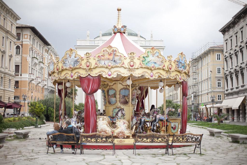 trieste italy carousel