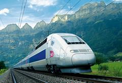 Cestování vlakem ve Švýcarsku mezinárodní vysokorychlostnísítí