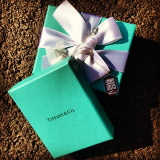 "Tiffany necklace ""medal"""