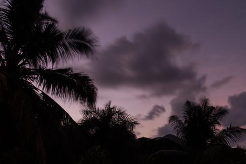 travel sky tree sunrise island exposure seychelles longtime