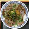 Photo:#8705 grilled beef tongue over rice By Nemo's great uncle