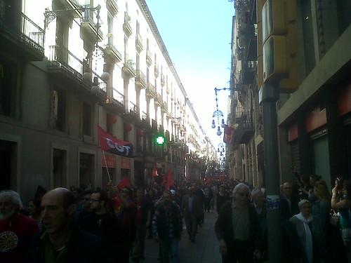 1 MAIG MANIFESTACIÓ CGT BARCELONA 2013