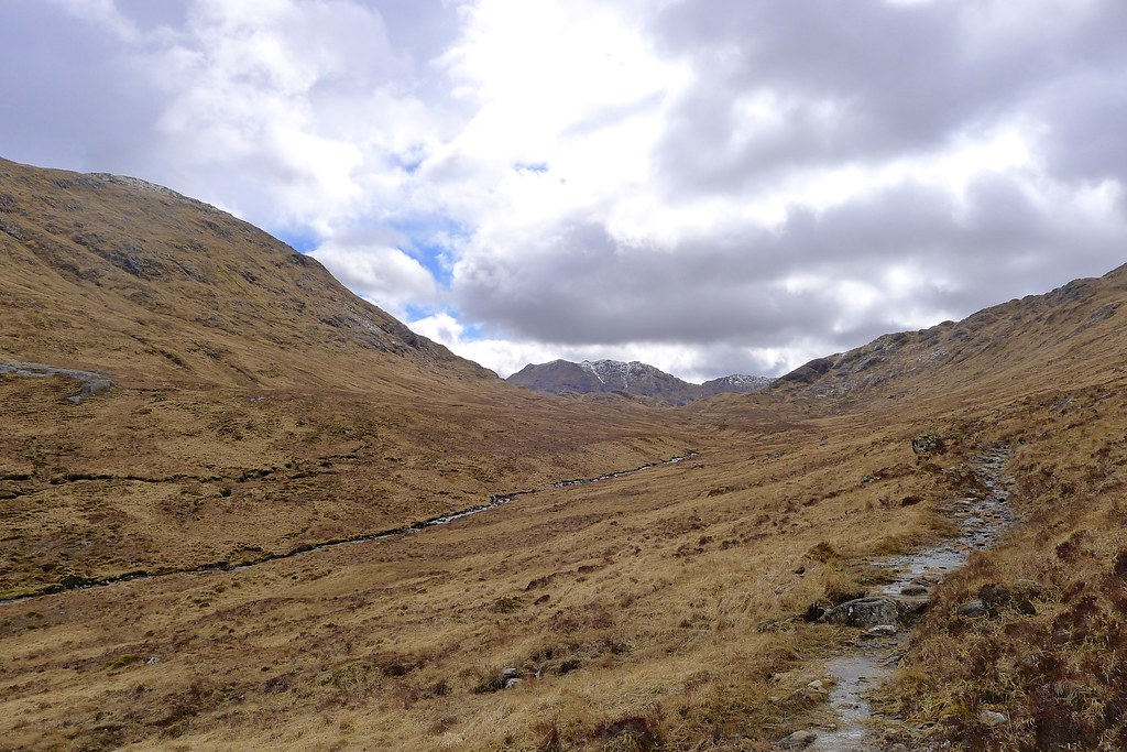 Looking back towards Cona Glen