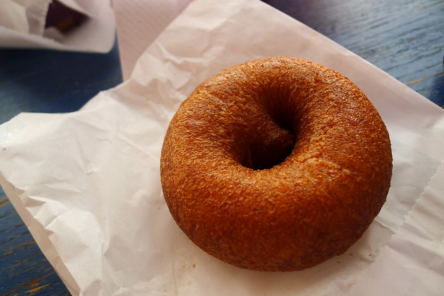 cinnamon brown sugar donut