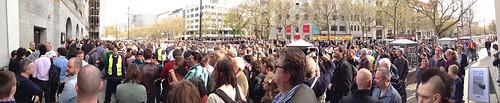Eröffnung des Berliner Apple Stores 2