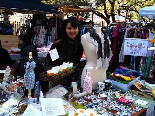 Ako Lamble at the Glebe Market