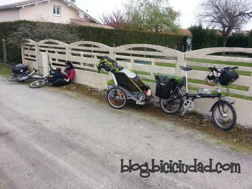 Carril Bici desde Andernos hasta Le Teich