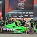 James Hinchcliffe with Andretti Autosport team in Victory Lane
