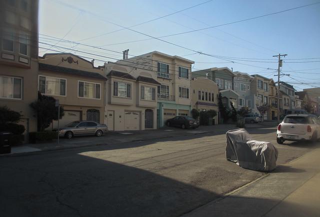 26th avenue; The Sunset, San Francisco (2013)