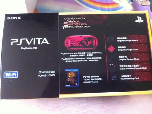 PS Vita S.S. Ver side