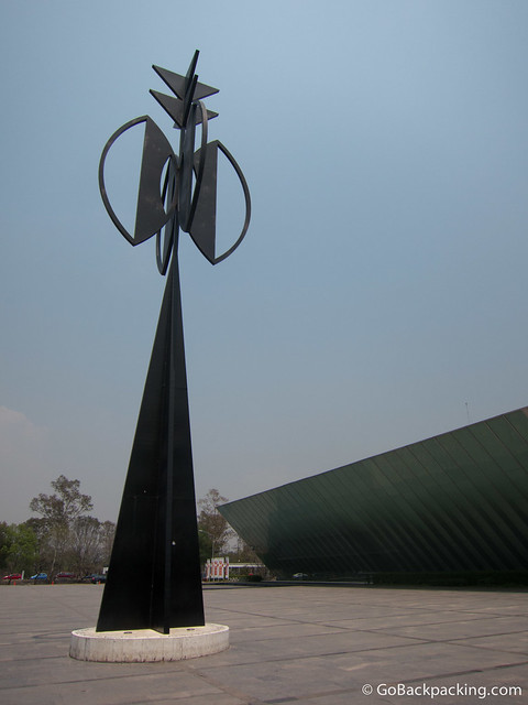 Sculpture outside the Contemporary Art Museum