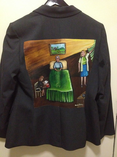 """Completing the Masterpiece"" a jacket for Vera Rulon"