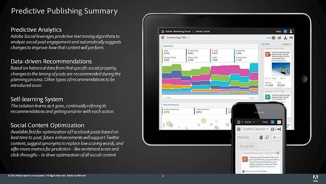 Adobe Social Predictive_Publishing_Summary