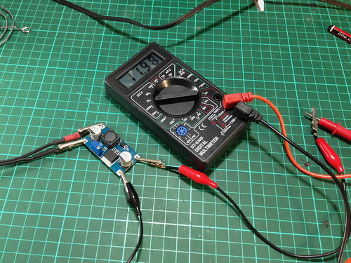 Setting Boost Converter