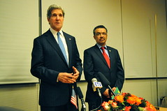 Secretary Kerry and Ethiopian Foreign Minister Adhanom Hold a News Conference in Addis Ababa