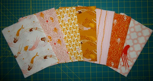 Heather Ross Mendocino Blush Fat Quarters