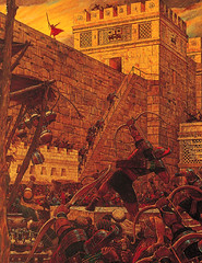 Samuel the Lamanite on the Wall