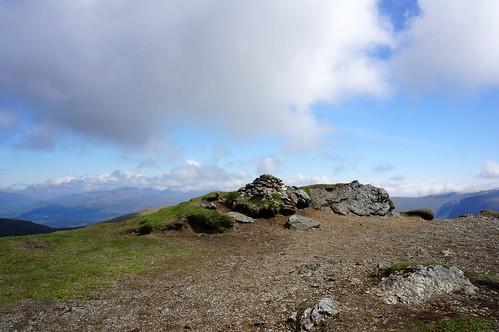 Stuchd an Lochain summit cairn