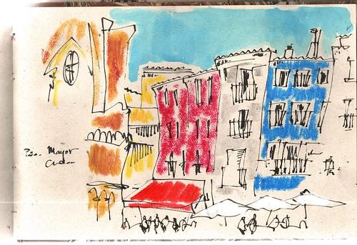 Dibujando Cuenca