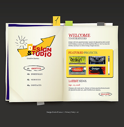 Flash site 27416 Design studio