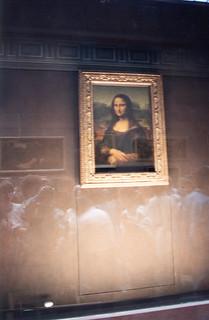 Louvre in Paris - Mona Lisa