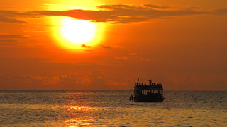 Maldives sunset cruise