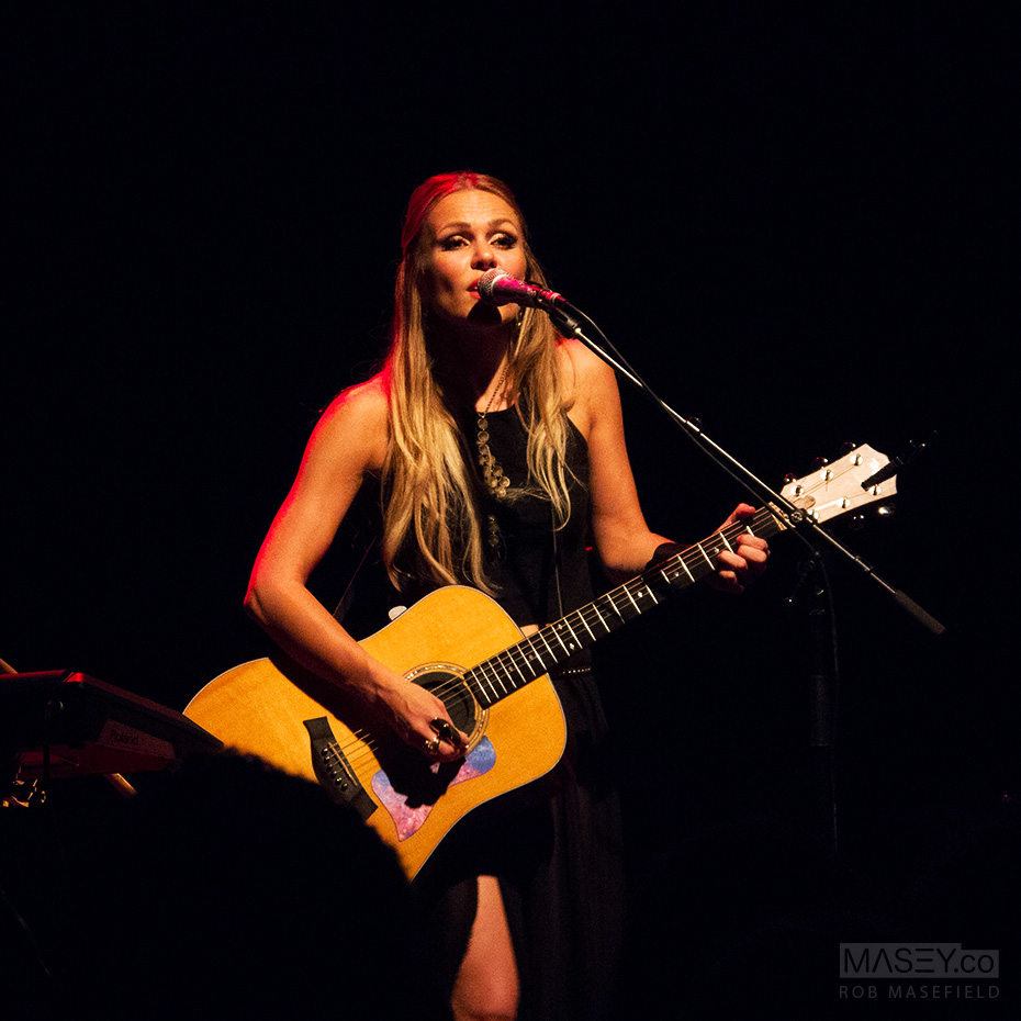 Morgan Joanel performs at the Tivoli Theatre