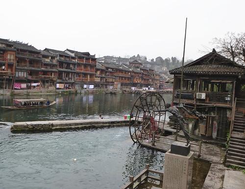 Hunan13-Fenghuang-Ville-Rive Nord (31)